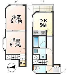 東京都杉並区成田西3丁目の賃貸マンションの間取り