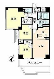 KDXレジデンス二子玉川[11階]の間取り