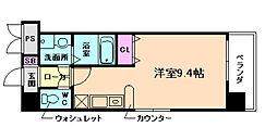 エクセレント上新16[11階]の間取り
