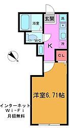 仮称)富岡4丁目新築計画[202号室]の間取り