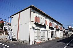 栃木県宇都宮市上野町の賃貸アパートの外観