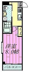 千葉県浦安市当代島2丁目の賃貸マンションの間取り
