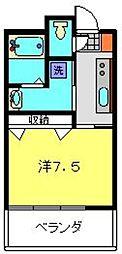 ビューサイト横浜[803号室]の間取り