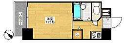ダイナコートテソロ博多[8階]の間取り