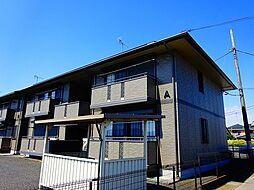 栃木県河内郡上三川町しらさぎ1丁目の賃貸アパートの外観
