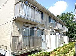 埼玉県上尾市大字瓦葺の賃貸アパートの外観