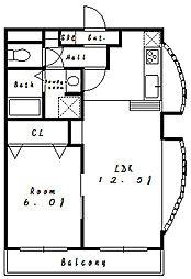 ボナ・クオリアVI[3階]の間取り