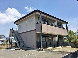 長野県上田市蒼久保の賃貸アパートの外観