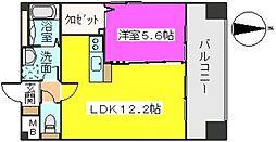 MM−5[406号室]の間取り