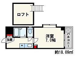 ボヌール桜坂I[303号室]の間取り