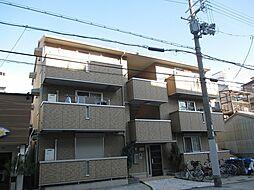 大阪府大阪市東淀川区小松2丁目の賃貸アパートの外観