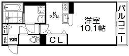リヴェール香里園[2階]の間取り