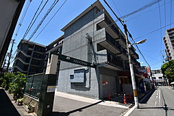 大阪府大阪市旭区高殿4丁目の賃貸アパートの外観