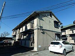 栃木県宇都宮市宮原5丁目の賃貸アパートの外観