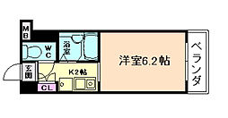 セレッソコート梅田東[3階]の間取り