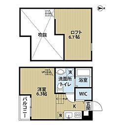 Rumah KL (ルマケーエル)[2階]の間取り