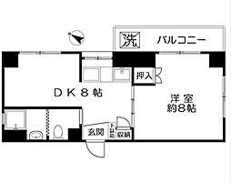 西荻窪永谷マンション[6階]の間取り