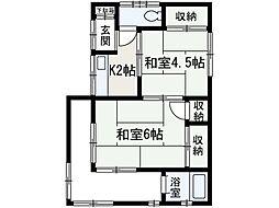 [一戸建] 埼玉県和光市白子3丁目 の賃貸【/】の間取り