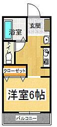 福岡電算ビル[107号室]の間取り