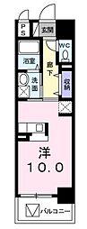 ブライトソレイユタワー[11階]の間取り