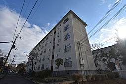 UR金剛団地[4階]の外観