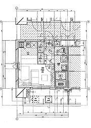 福岡市地下鉄七隈線 渡辺通駅 徒歩5分の賃貸マンション 3階1Kの間取り