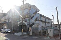 愛知県岡崎市藤川町字一里山北の賃貸マンションの外観