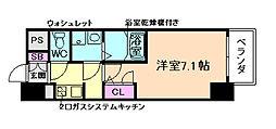 W-STYLE 福島 II wistaria[6階]の間取り