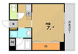 メゾン・ド・ヴィレ板宿[3階]の間取り