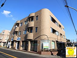 千葉県市川市北方2丁目の賃貸マンションの外観