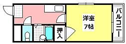 JR東海道・山陽本線 JR総持寺駅 3.2kmの賃貸アパート 1階1Kの間取り