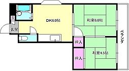 Mプラザ津田駅前弐番館[3階]の間取り