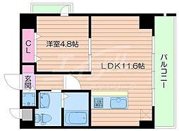 HGT Court Miyakojima[2階]の間取り