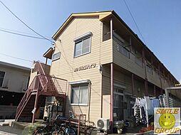 東京都江戸川区中葛西8丁目の賃貸アパートの外観