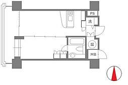 ネクサス百道レジデンシャルタワー[1603号室]の間取り