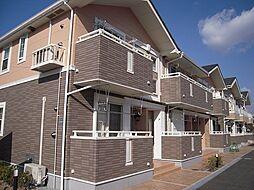 兵庫県川西市加茂3丁目の賃貸アパートの外観