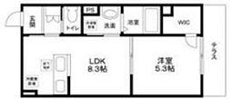 (仮称)大田区南雪谷2丁目計画 1階1LDKの間取り