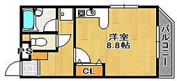 アストレイアマンション[303号室]の間取り