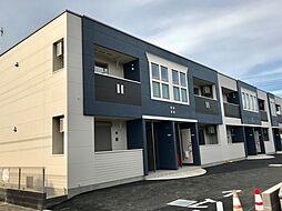 埼玉県上尾市中分1丁目の賃貸アパートの外観