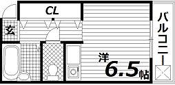 フィオレンテ神戸III[2階]の間取り
