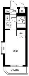 日神パレス新高円寺第2[2階]の間取り
