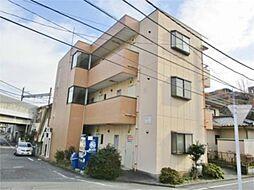 東京都多摩市中沢1の賃貸マンションの外観