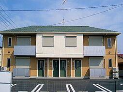 栃木県下野市駅東4丁目の賃貸アパートの外観