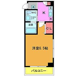 Clarice MAIHAMA[3階]の間取り