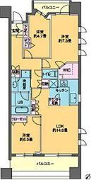 ParkCube 日本橋水天宮〜パークキューブ日本橋水天宮〜[3階]の間取り