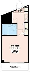 クレスト多摩川[2階]の間取り