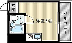 清和ハイツ[2階]の間取り