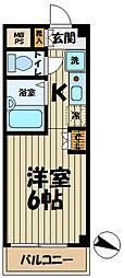 神奈川県横浜市栄区笠間3丁目の賃貸マンションの間取り