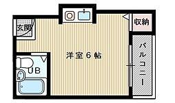 K・菅原ハイツ[3階]の間取り