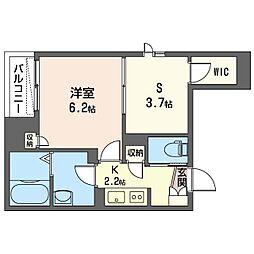 仮称 越谷市千間台西1丁目マンション 3階1SKの間取り